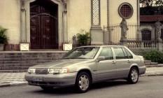 O Volvo 960 era muito seguro e tinha equipamentos raros em 1995 Foto: Sergio Tomisaki /Agência O Globo/22-4-1995
