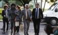 Deputados federais do Rio chegam para reunião com o interventor Braga Netto