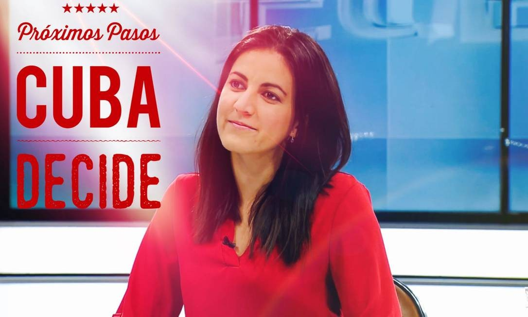 A ativista cubana Rosa Payá, filha de Oswaldo Payá Foto: / Divulgação