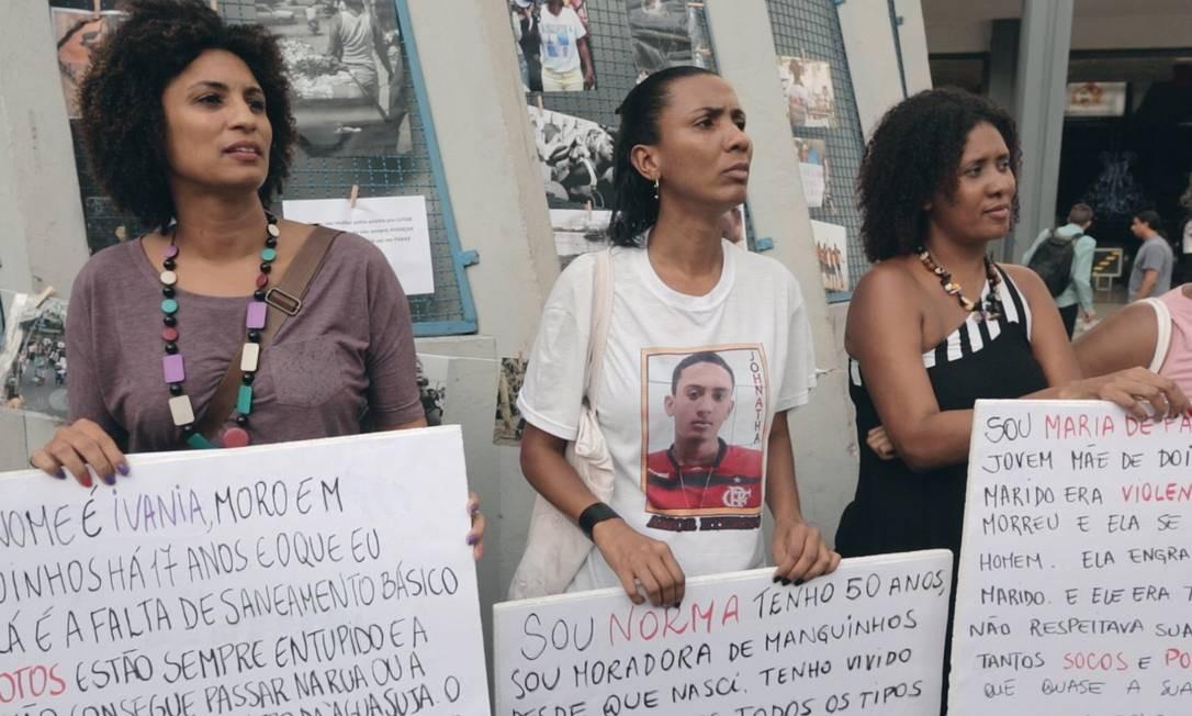 Cena de 'Auto de resistência' Foto: Divulgação