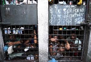 Inspeção do Conselho Nacional do CNJ em unidades prisionais de Sergipe Foto: Luiz Silveira/ Agência CNJ 25/11/2013