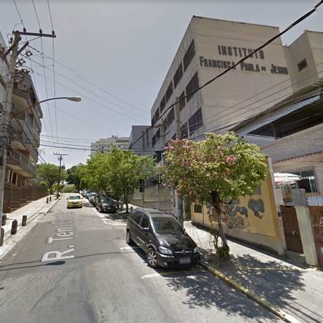 O local do arrastão Foto: Google Street View / Reprodução