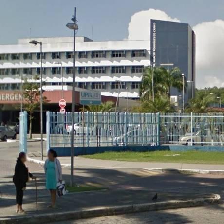 O Hospital Moacyr do Carmo, em Duque de Caxias Foto: Google Street View / Reprodução