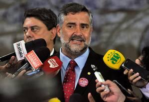 Paulo Pimenta, líder do PT na Câmara Foto: Luis Macedo / Câmara dos Deputados