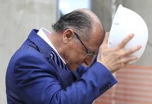O ex-governador de São Paulo Geraldo Alckmin Foto: Edilson Dantas / Agência O Globo