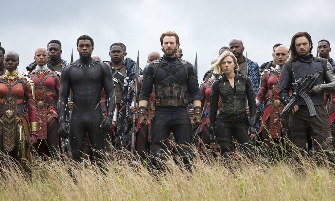 Parte de 'Vingadores: Guerra infinita' se passará em Wakanda Foto: Divulgação/Marvel Studios