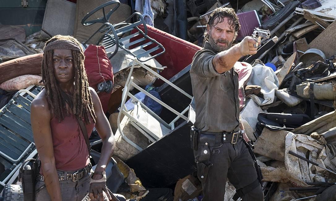 Cena de 'The Walking Dead' Foto: Divulgação