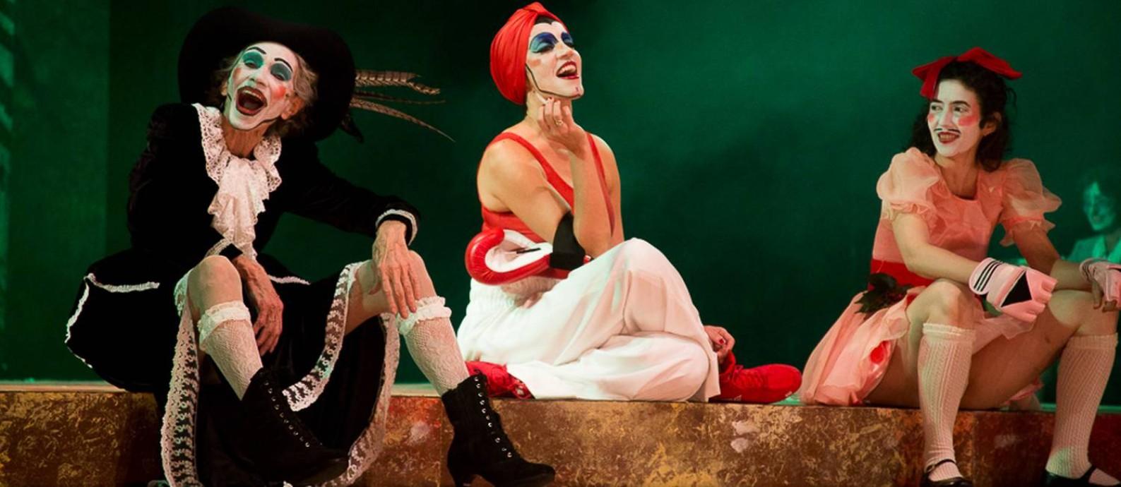 Zé Celso também atua na nova montagem Foto: Divulgação/Jennifer Glass