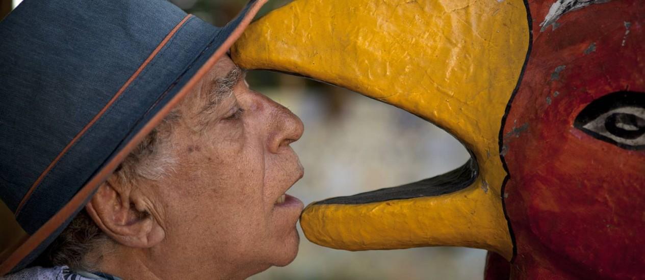 'NEVILLE D'ALMEIDA — CRONISTA DA BELEZA E DO CAOS'. De Mario Abbade Foto: Divulgação/Beto Figueroa