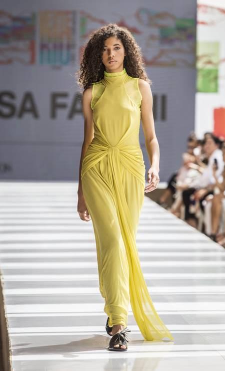 Luisa Farani, verão 2019 Foto: Hermes de Paula/ O Globo