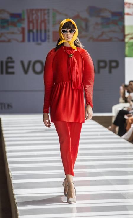 Ateliê Von Trapp, verão 2019 Foto: Hermes de Paula/ O Globo