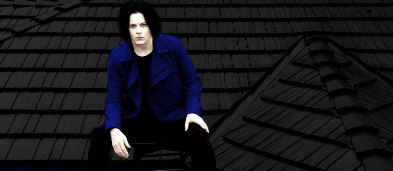 O cantor e compositor Jack White Foto: Divulgação/David James Swanson