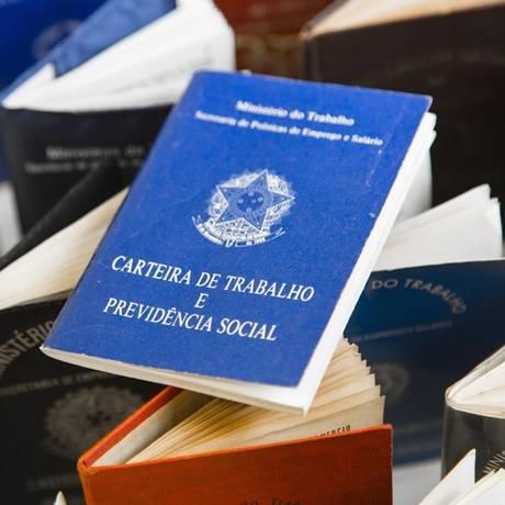 Saída voluntária: em fevereiro, Caged registrou 273,6 mil pedidos de demissão Foto: Leo Martins - Agencia O Globo