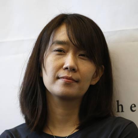 Vencedora do Man Booker International Prize em 2016, Han Kang concorre novamente com 'The white book' Foto: Lee Jin-man / AP