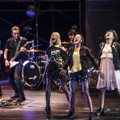 A banda Titãs apresenta sua ópera rock 'Doze Flores Amarelas', em São Paulo Foto: SILMARA CIUFFA / Divulgação