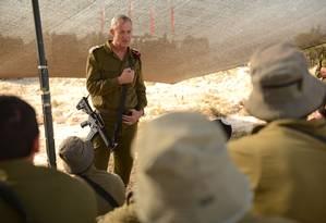 Benny Gantz foi chefe do Estado-Maior de Israel de 2011 a 2015 e comandou operação na Faixa de Gaza Foto: Shay Wagner / Forças de Defesa de Israel