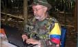 Raúl Reyes, morto em um acampamento das Farc no Equador