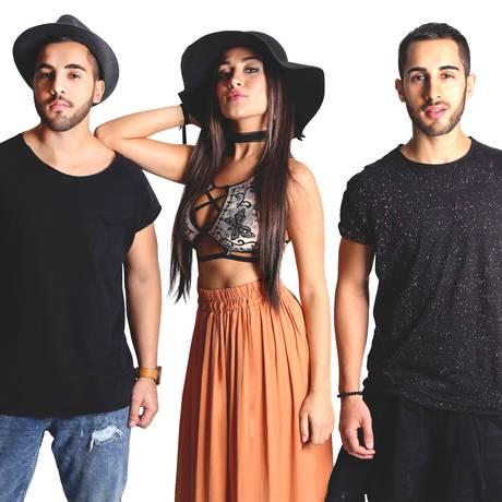 """Atração. Os irmãos Rodrigo, Gabi e Diogo Melim tocam no """"Jovens tardes"""" Foto: Divulgação"""