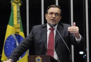 Por discordar de posição do partido, senador Walter Pinheiro deixou o PT Foto: Divulgação/Agência Senado