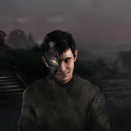 Ilustração de Norman Bates, personagem do filme 'Psicose' que emprestou o nome para o robô: a primeira inteligência artificial psicopata do mundo demonstra necessidade de inserção de valores éticos em equipamentos Foto: Divulgação/MIT