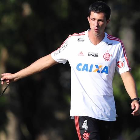 Maurício Barbieri é o treinador mais jovem do Brasileiro Foto: Gilvan de Souza/Divulgação Flamengo