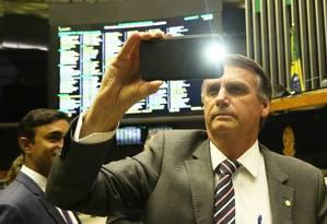As datas com mais buscas por Bolsonaro no Planalto foram os três primeiros dias de mandato Foto: Ailton de Freitas / Agência O Globo