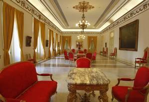 Despachos do prefeito. O Palácio da Cidade, construído para ser a embaixada do Reino Unido na década de 1940 Foto: Custódio Coimbra / Custódio Coimbra