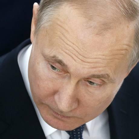 Putin fotografado em evento na última quinta-feira Foto: Maxim Shipenkov / AP