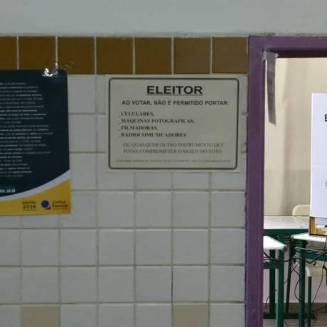 Cenário das eleições está imprevisível Foto: Paulo Pinto / Agência O Globo