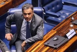 Aécio Neves também é acusado de atrapalhar as investigações Foto: Ailton de Freitas / Ailton de Freitas/18/10/2017