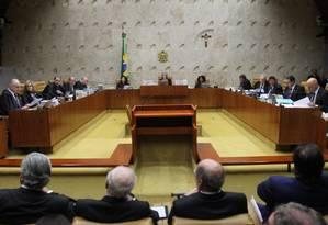 Pagamento de auxílio moradia ainda não foi pacificado pelo STF Foto: Ailton de Freitas / Agência O Globo