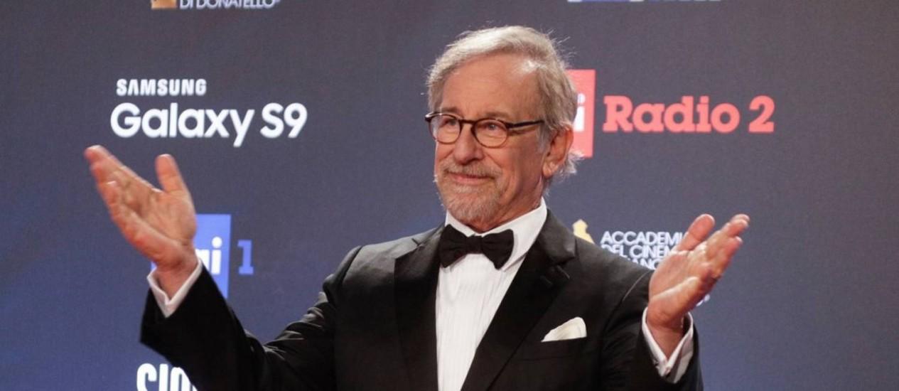 Steven Spielberg alcançou já arrecadou mais de US$ 10 bi com bilheteria Foto: Gregorio Borgia / AP
