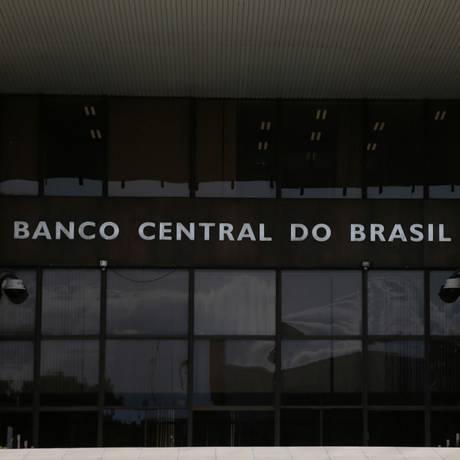 Sede do Banco Central do Brasil, em Brasília Foto: Michel Filho / Agência O Globo