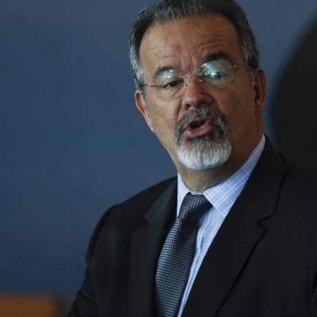 Raul Jungmann, o ministro da Segurança Pública Foto: Michel Filho / Agência O Globo