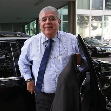 O ministro da Secretaria de Governo, Carlos Marun, durante entrevista Foto: Ailton de Freitas / Agência O Globo