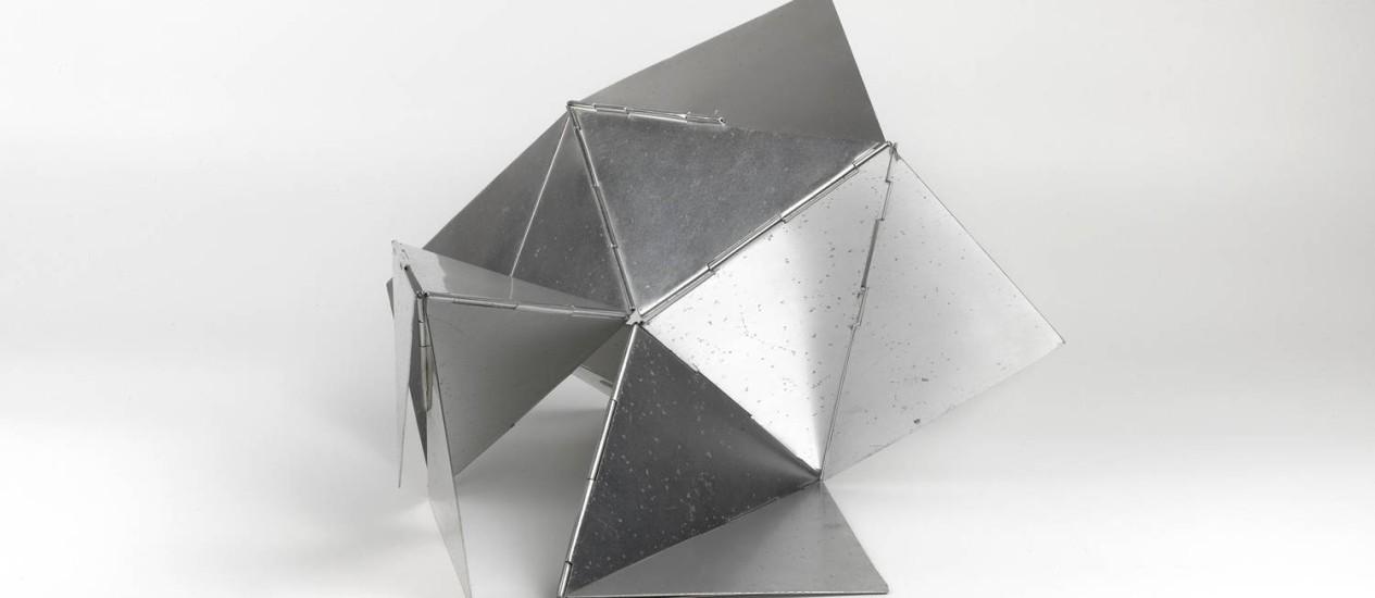 'Bichos' (1960), de Lygia Clark, pertencente à Coleção Chateaubriand: permuta suspensa Foto: Valentino Faldini/Divulgação