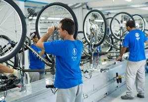 Fábrica da Sense foi construída em 2009 na Zona Franca de Manaus com investimento de R$ 35 milhões Foto: Rafael Rosa / Divulgação