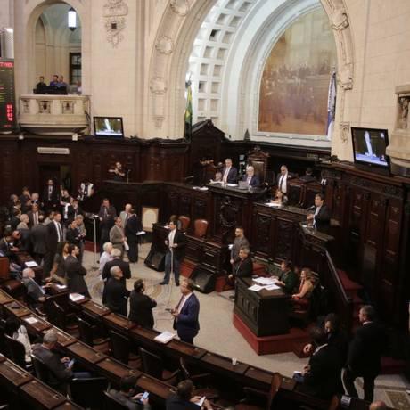 O plenário da Assembleia Legislativa Foto: Alexandre Cassiano / Alexandre Cassiano