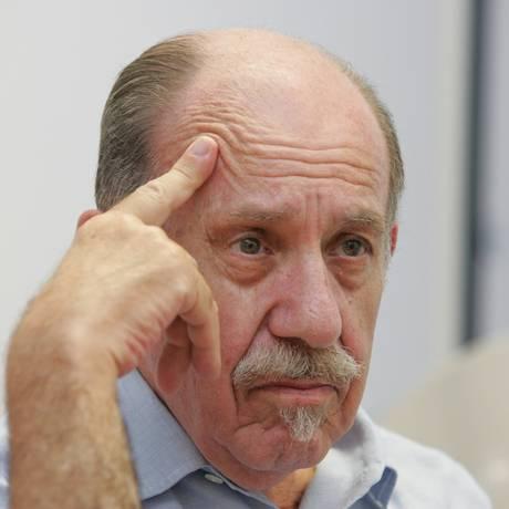 O economista e um dos fundadores do Partido dos Trabalhadores Paul Singer Foto: Roberto Stuckert Filho/ Agência O GLOBO