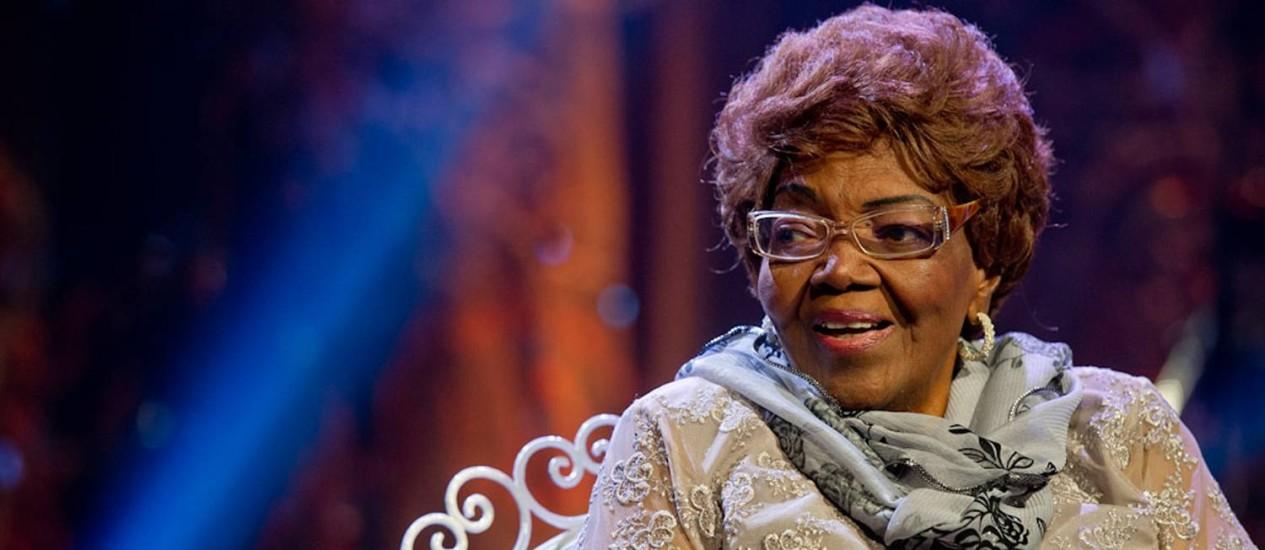 Dona Ivone Lara, considerada a 'Rainha do Samba', morreu de insuficiência cardiorrespiratória Foto: Arquivo