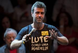 O deputado estadual Mercelo Freixo (PSOL-RJ) Foto: Mauro Pimentel - 02/04/2018 / AFP