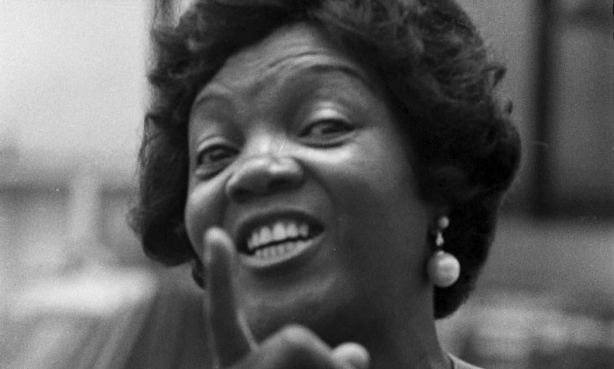D. Ivone Lara em 1977 Foto: Agência O Globo