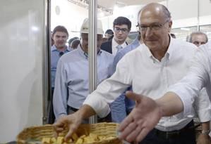 O pré-candidato do PSDB à Presidência, Geraldo Alckmin Foto: Jorge William / Agência O Globo 13/04/2018