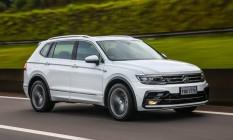 O Tiguan é o primeiro modelo da VW com a nova identidade visual da marca a ser vendido no Brasil Foto: Divulgação
