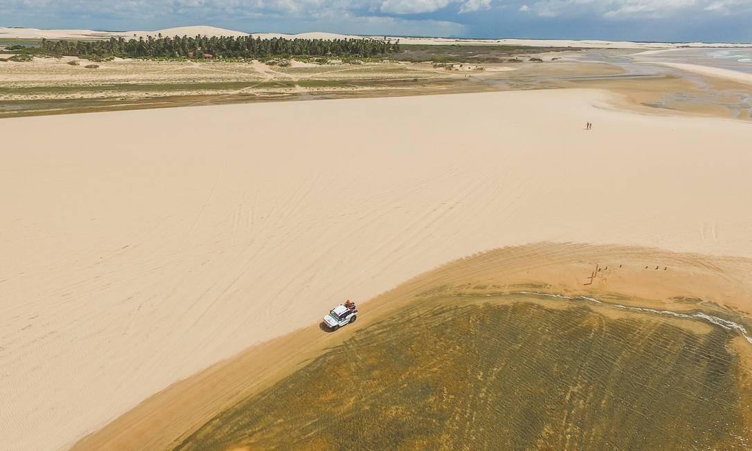 O Parque Nacional de Jericoacoara, no Ceará,foi o terceiro mais buscado por turistas. Foto: Mtur