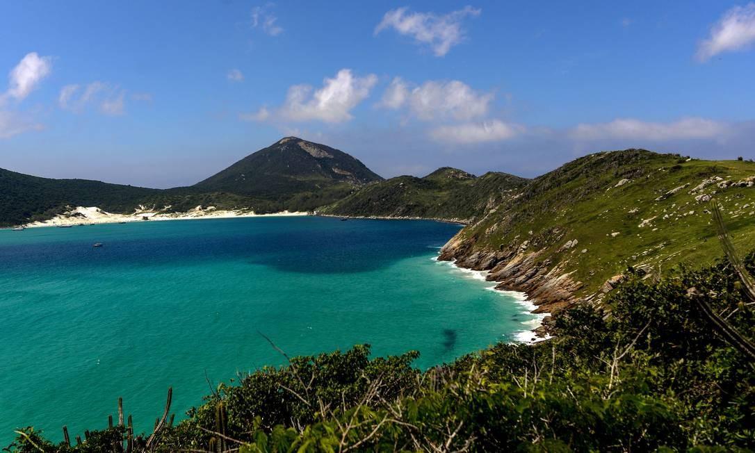 A Reserva de Arraial do Cabo, no Estado do Rio, que aparece em quarto lugar. Foto: Mtur