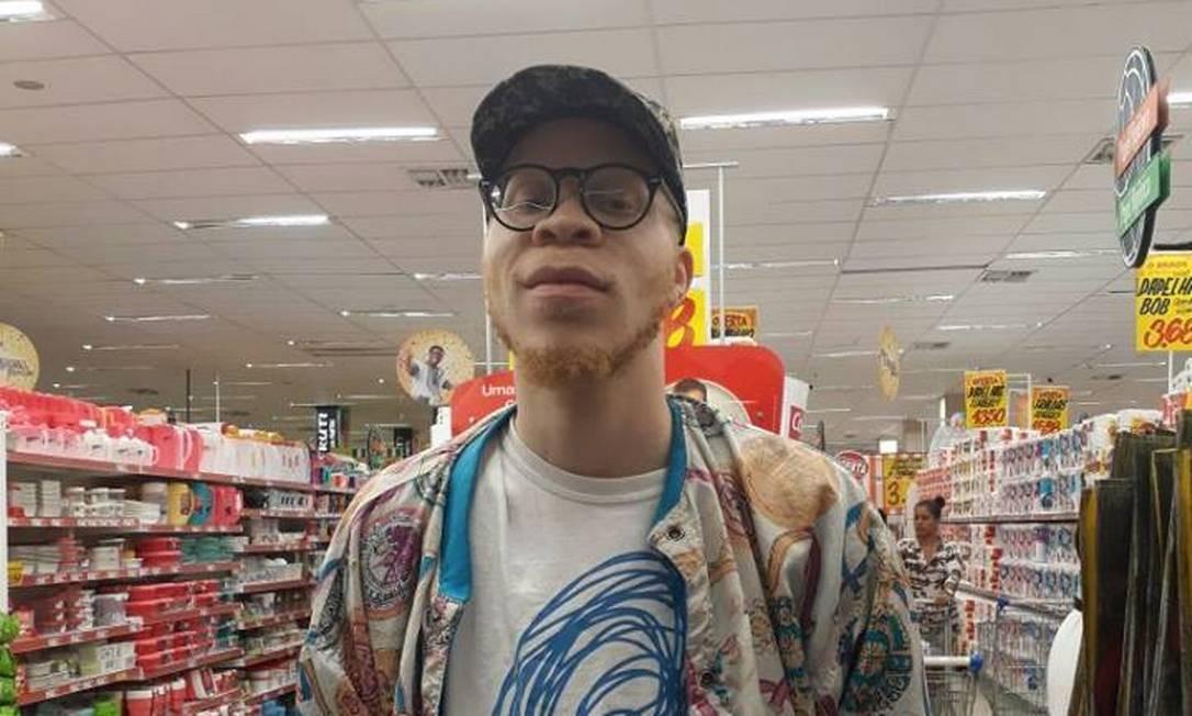Rapper inglês Kenny Paul Mukendi, que desapareceu no último dia 13, na Barra da Tijuca Foto: Reprodução