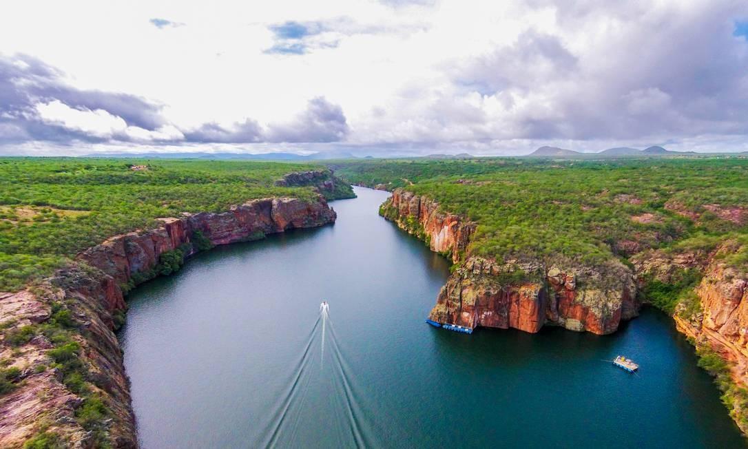 O Monumento Natural do Rio São Francisco, que fica entre os estados de Sergipe, Alagoas e Bahia, apareceu no ranking pela primeira vez, na sétima colocação. Foto: 100MEDIA/Creative Commons
