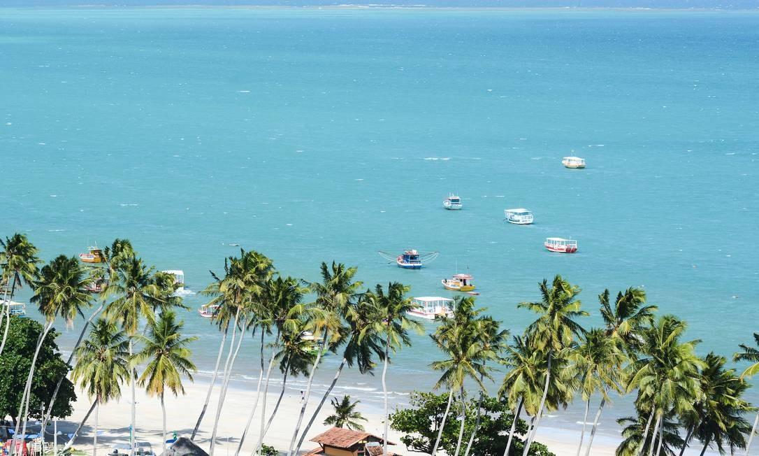 A Área de Proteção Ambiental da Costa dos Corais, famosa pelas piscinas naturais de Maragogi (foto), ficou em oitavo lugar. Foto: Mtur