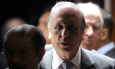 Luiz Fernando Pezão, governador do Rio de Janeiro Foto: Jorge William / Agência O Globo